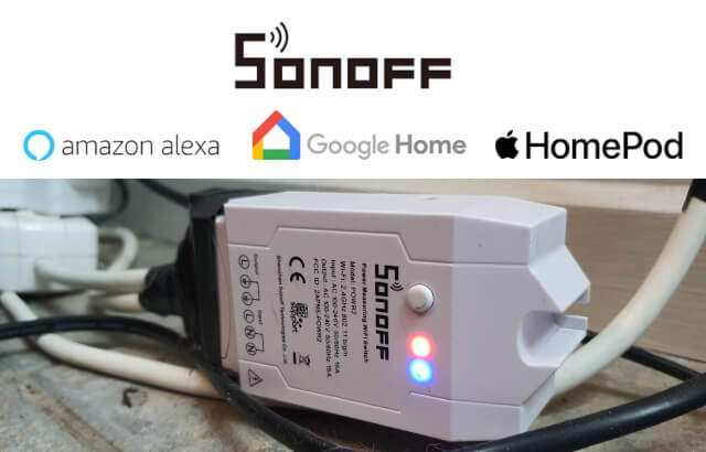 How to monitor the power usage of devices using a Sonoff Pow R2