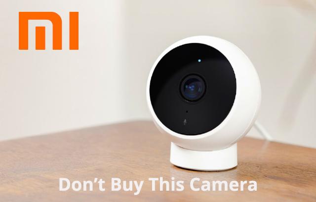 Xiaomi Mijia 1080P 170 Degree Smart IP Camera with AI Human Detection