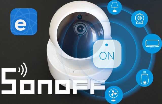 Review: Sonoff GK-200MP2-B a Wi-Fi and Lan enabled Wireless IP Security Camera